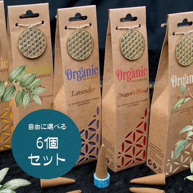 【自由に選べる6個セット】お香立つきオーガニックコーン香ギフトセットの写真