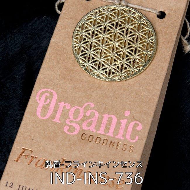 【自由に選べる3個セット】お香立つきオーガニックコーン香ギフトセット 8 - お香立つきオーガニックコーン香ギフトセット - 乳香-フラインキインセンス(IND-INS-736)の写真です