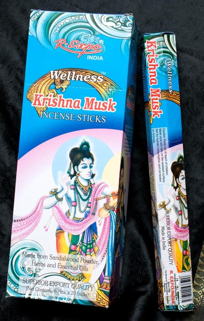 【6箱セット】クリシュナムスク香 Wellness Krishna Muskの写真