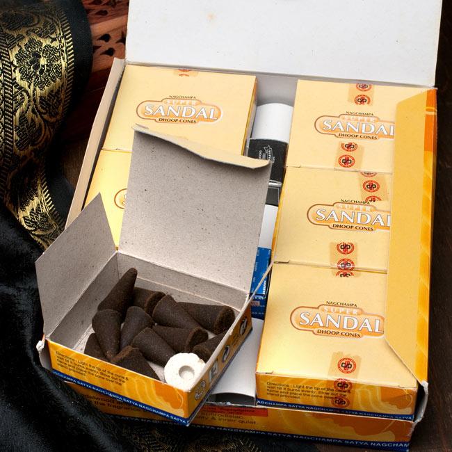 【12箱セット】Satya スーパーサンダル[コーン香BOX]の写真