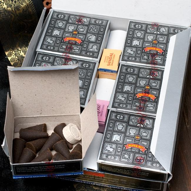 【12箱セット】Satya スーパーヒット[コーン香BOX]の写真