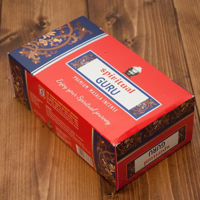 【12本セット】Spiritual Guru香の写真2 - 12本セットはこの箱でのお届けとなる場合がございますe