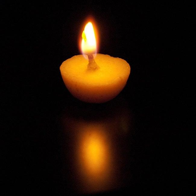 【お徳用6箱セット】礼拝用ギーキャンドル - Prasanna Jyot 5 -