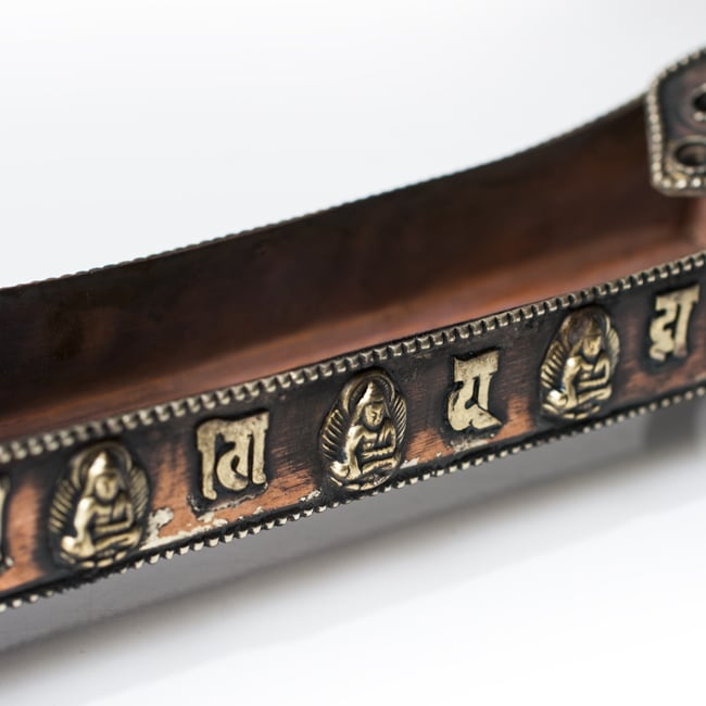 チベット香用お香立て - 小の写真3 - 側面の様子です