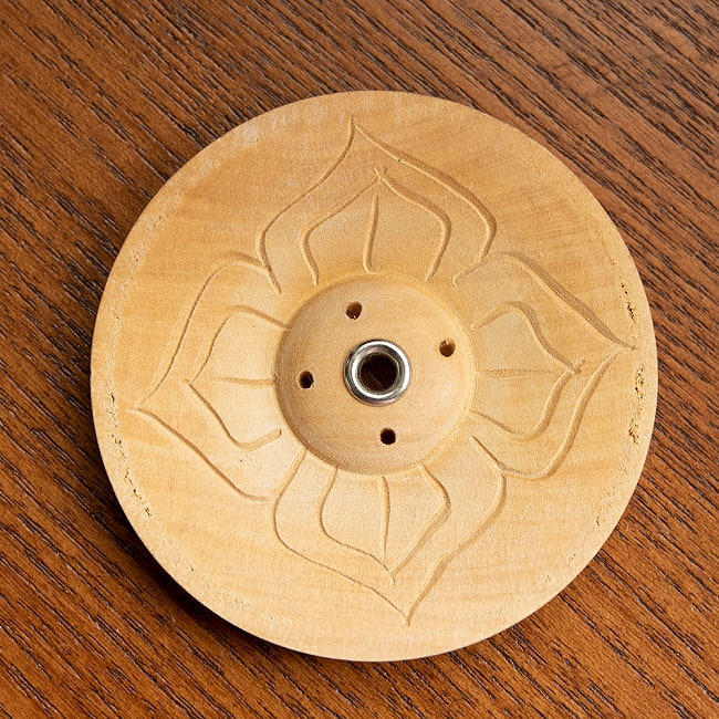 インド香&ネパール香立て[7cm]の写真6 - ナチュラルカラーのものの写真です