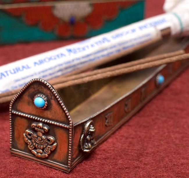 チベット香用アンティックお香立て【大】の写真