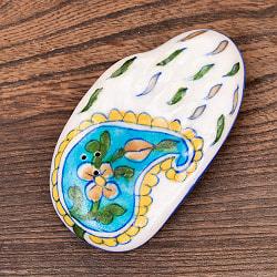 ジャイプール陶器の手のひら型お香立て
