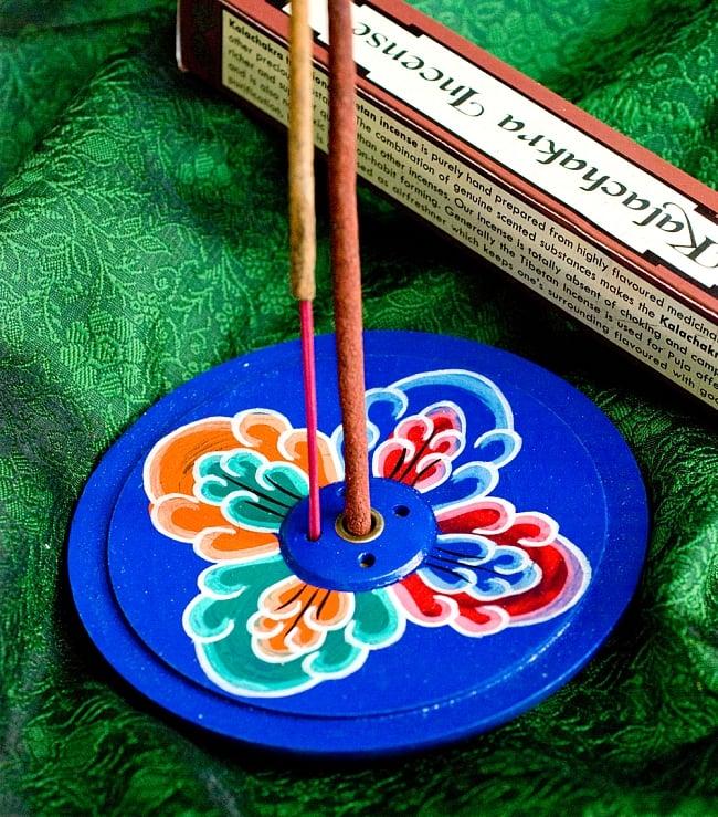 インド香&ネパール香立て 【直径約9cm】 1