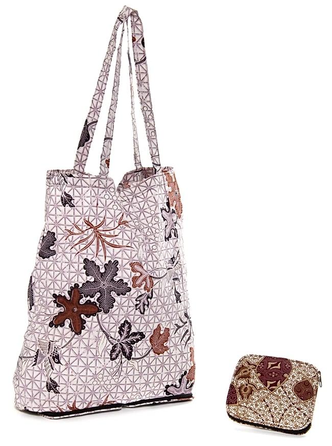 a315f1f4ff Foldable! Pro-eco-bag - mixture of the batik cloth a folding Bali batik  pattern Thoth shopping bag type Mai bag India jute God porch ethnic Asia  sorting it