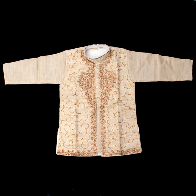子供用クルタパジャマ 3点セット【刺繍】  2 - 表面の写真です