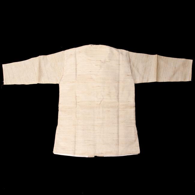 子供用クルタパジャマ 3点セット【刺繍】  3 - 裏はこのようになっております