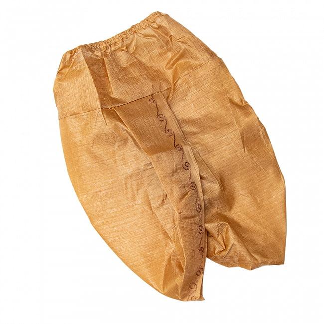 クリシュナ・クルタ - キッズ・ベビーサイズのドーティクルタ 8 - インド独特のドーティというズボン(と腰布の中間のようなもの)です。