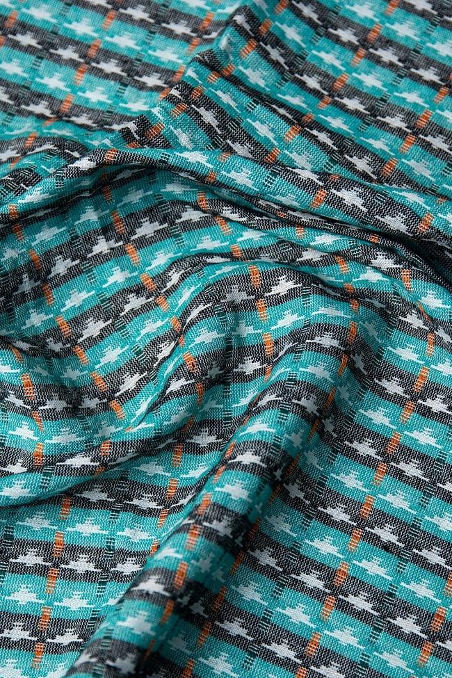[約2メートル]ネパール伝統のダッカ織り布の写真