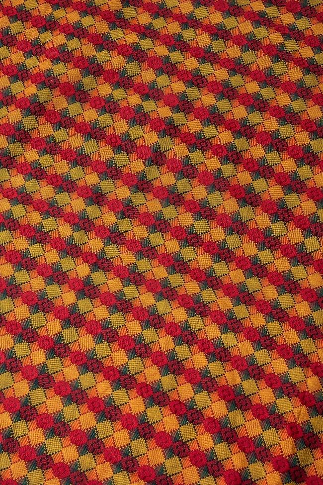 ネパール伝統のダッカ織り布 1メートル切り売り 1