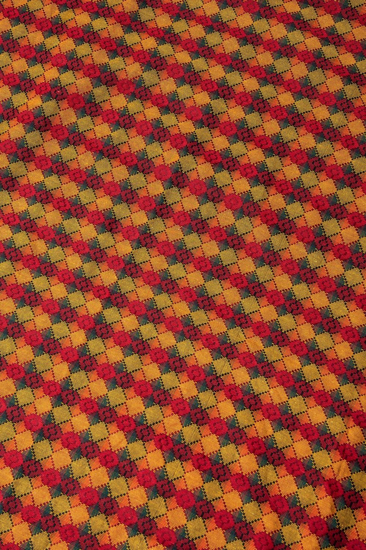 ネパール伝統のダッカ織り布 1メートル切り売りの写真
