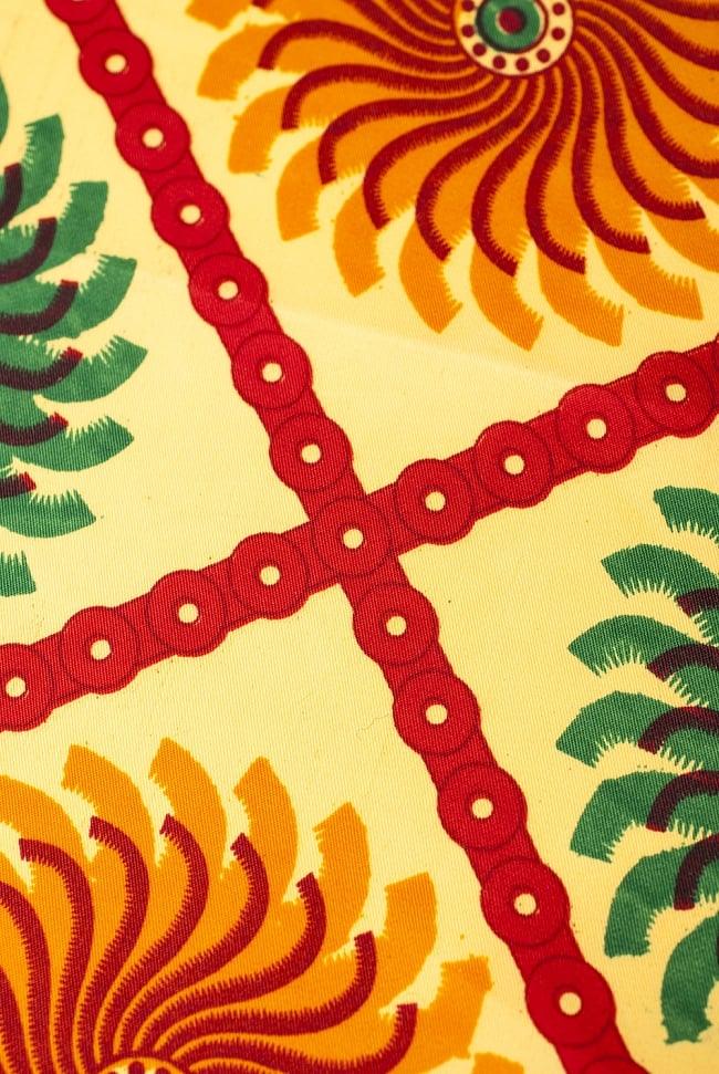 【横幅:149cm】パーティー向けデコレーション布(1m切り売り) 5 - エスニックな模様が素敵です。
