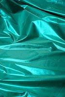〔1m切り売り〕インドの伝統模様布 - 無地 ターコイズ〔幅100cm〕