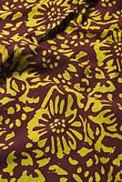 〔1m切り売り〕インドのバティック染め布 〔幅約110cm〕