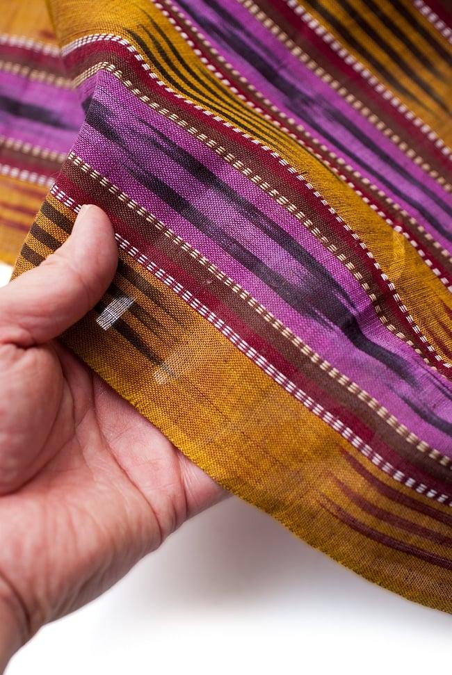 〔1m切り売り〕インドの絣織り布 〔幅約111cm〕 5 - さまざまな手芸へ。想像が広がる布です。