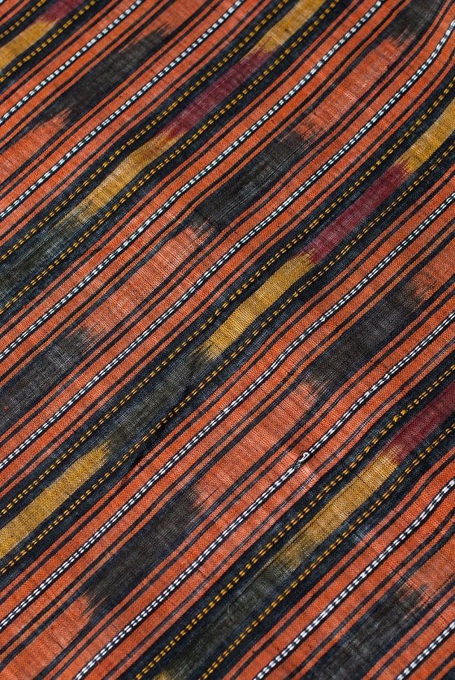 〔1m切り売り〕インドの絣織り布 〔幅約114cm〕の写真