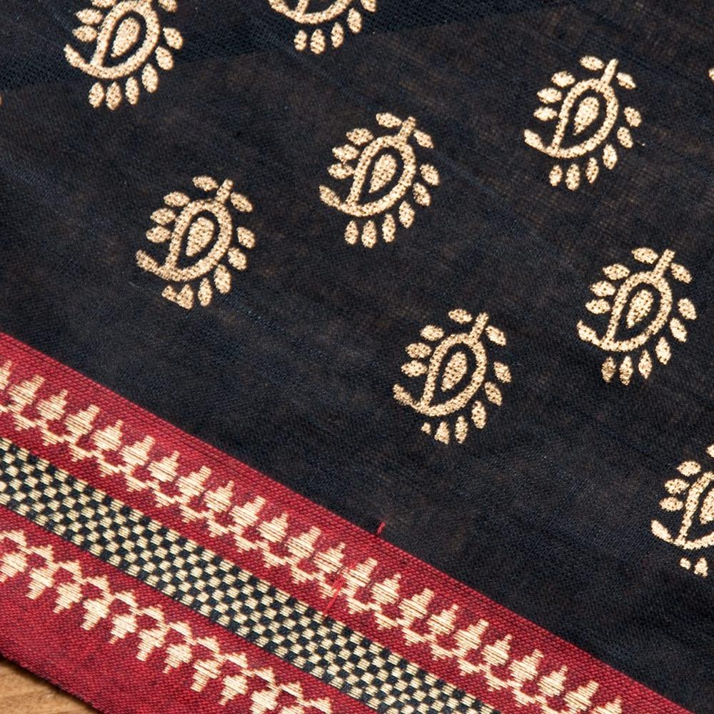 〔1m切り売り〕インドの伝統模様布幅110cm 2 - 優しい風合いが魅力です。