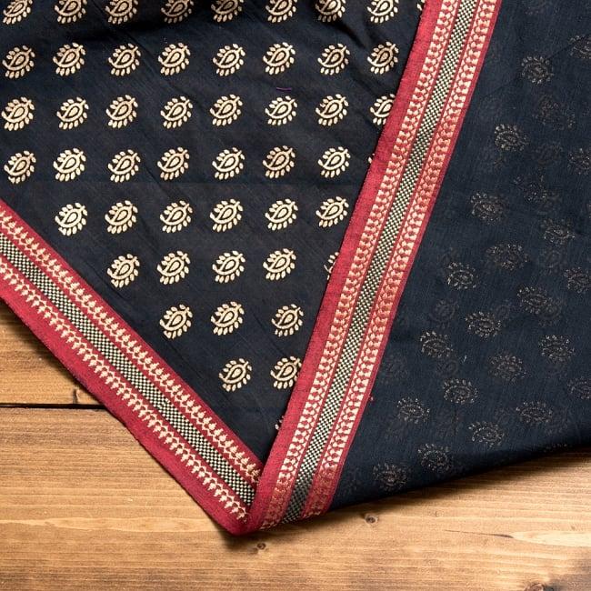 〔1m切り売り〕インドの伝統模様布幅110cm 4 - 手芸用として、ソファーなどのカバーとして、さまざまな用途へ使える品です。