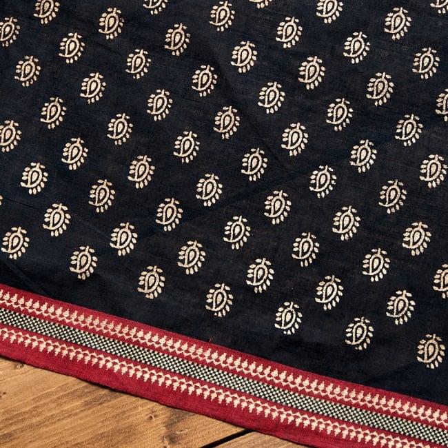 〔1m切り売り〕インドの伝統模様布幅110cmの写真