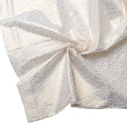 〔1m切り売り〕ゴールドプリント光沢布 - 幅約104cm
