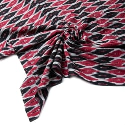 〔1m切り売り〕インドの絣織り布 - 幅約110cm
