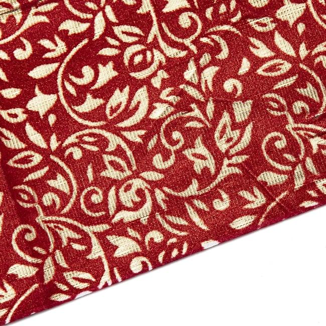 〔1m切り売り〕インドの伝統模様布 - 幅約104cm 10 -