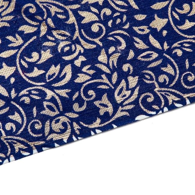 〔1m切り売り〕インドの伝統模様布 - 幅約104cm 11 -