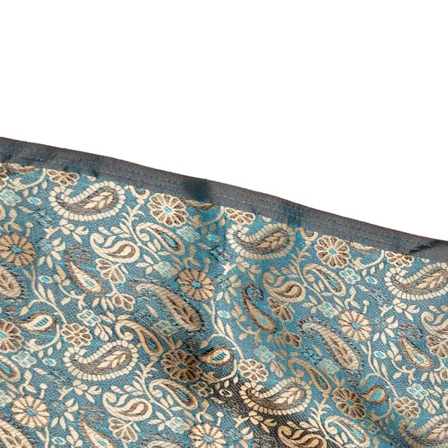 〔1m切り売り〕インドの伝統模様布〔幅約110cm〕 4 - フチの写真です