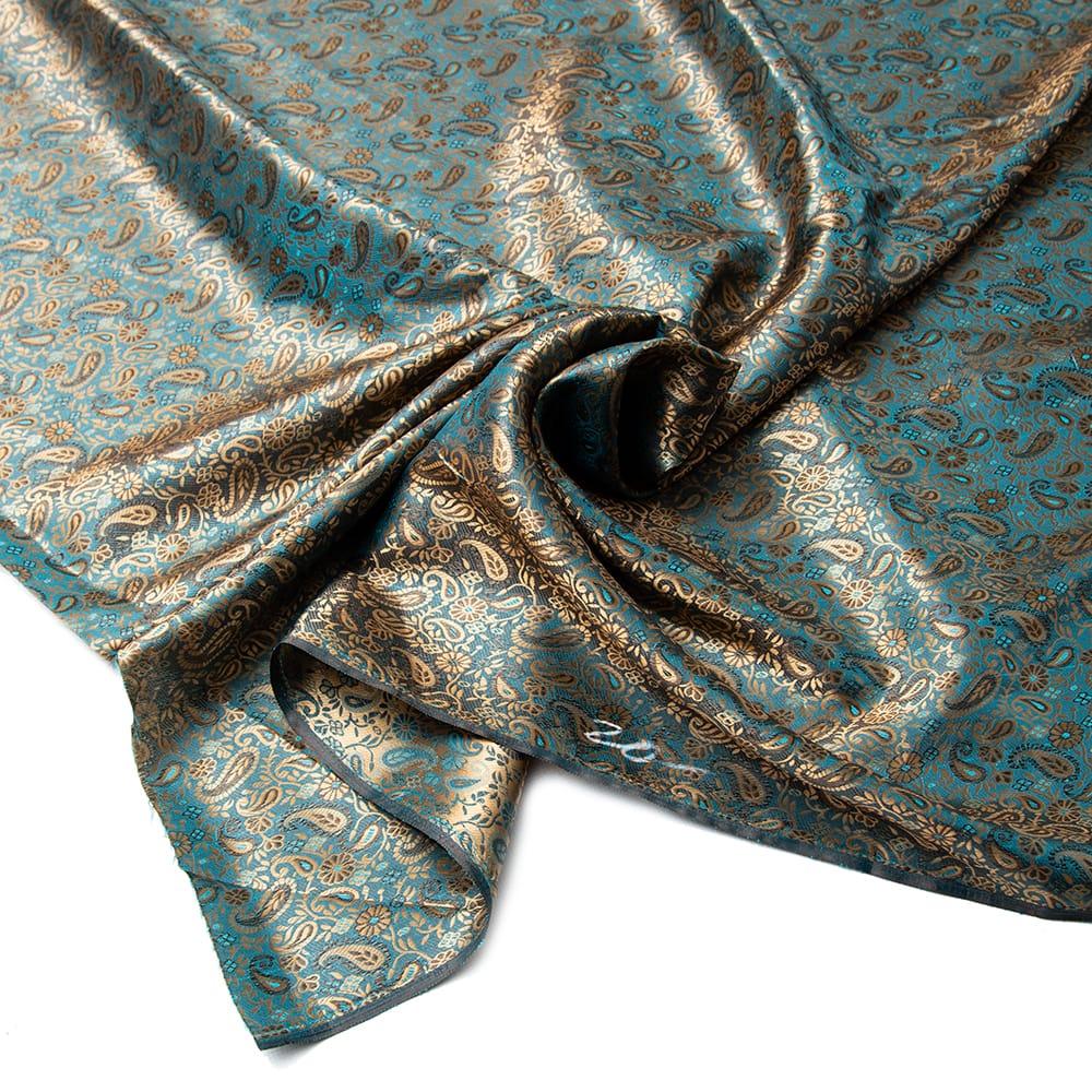 〔1m切り売り〕インドの伝統模様布〔幅約110cm〕の写真