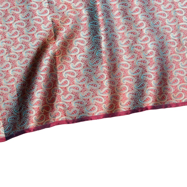 〔1m切り売り〕インドの伝統模様布〔幅約112cm〕 4 - フチの写真です