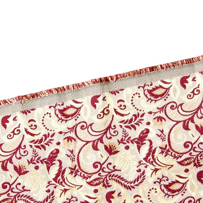 〔1m切り売り〕インドの伝統模様布〔幅約152cm〕 4 - フチの写真です
