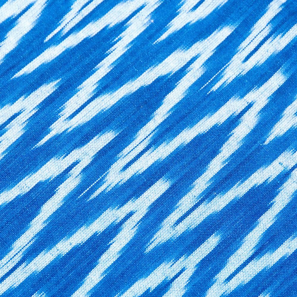 〔1m切り売り〕インドの絣織り布 - 幅約110cm 2 -
