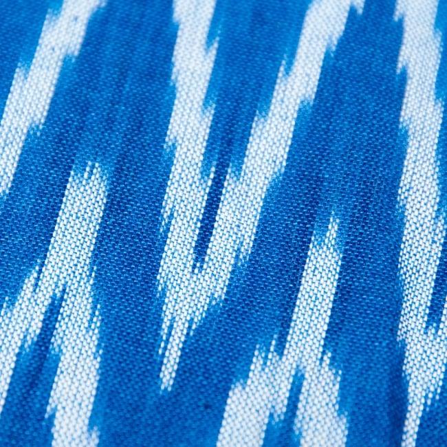 〔1m切り売り〕インドの絣織り布 - 幅約110cm 3 -