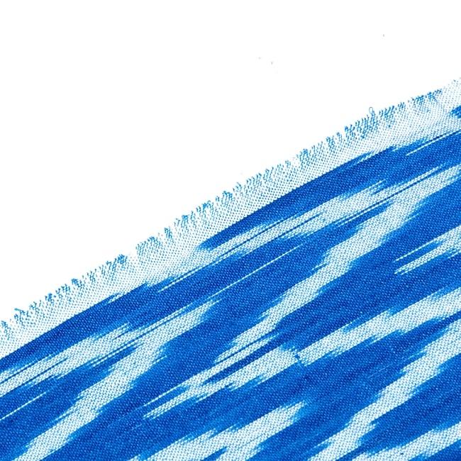 〔1m切り売り〕インドの絣織り布 - 幅約110cm 4 -