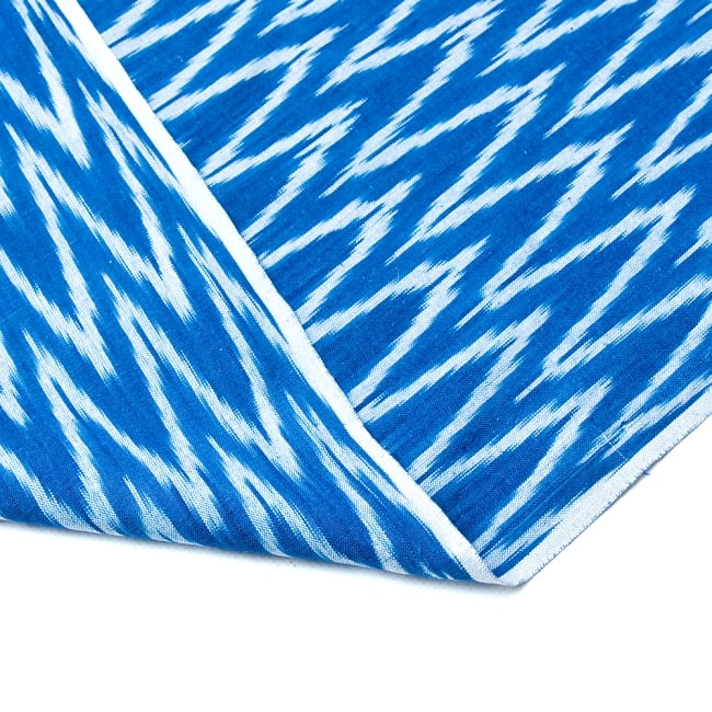 〔1m切り売り〕インドの絣織り布 - 幅約110cm 6 -