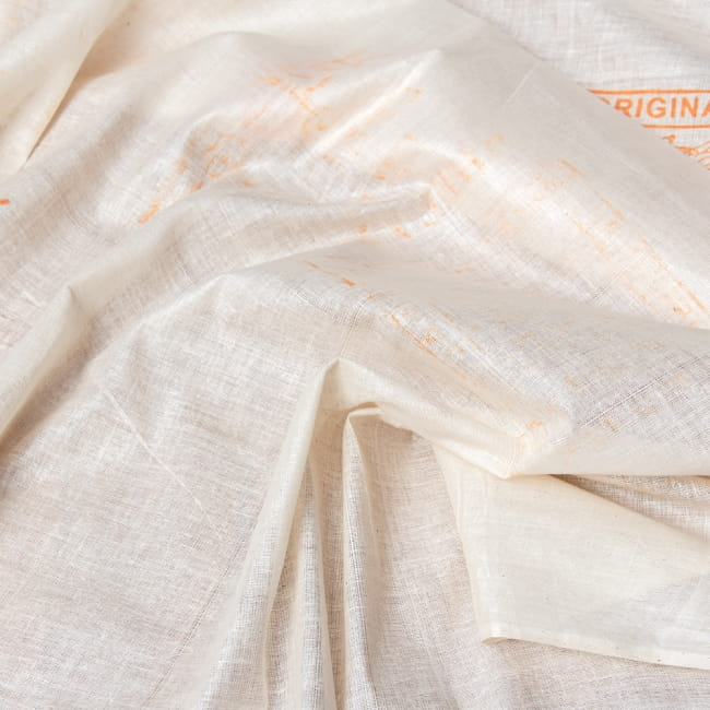 〔1m切り売り〕インド綿のナチュラルファブリック〔幅約96cm〕 4 - 拡大写真です