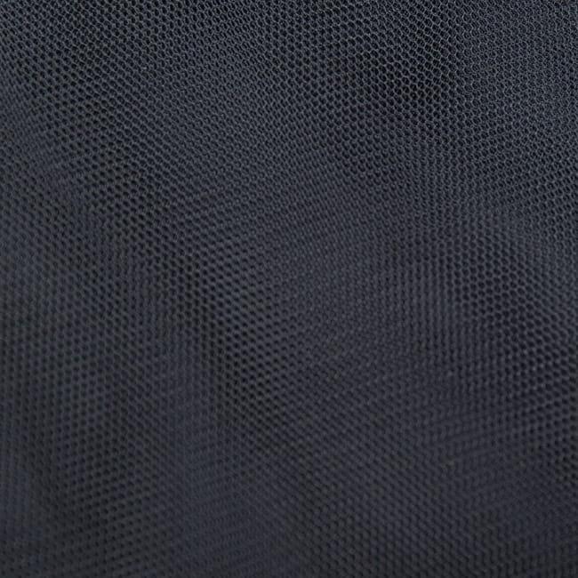 〔1m切り売り〕無地のメッシュ生地布〔幅約160cm〕 10 - 選択3:ブラック