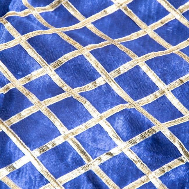 〔1m切り売り〕インドの伝統模様布〔幅約105cm〕 3 - 拡大写真です。独特な雰囲気があります。