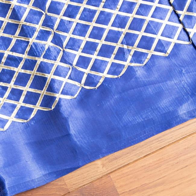 〔1m切り売り〕インドの伝統模様布〔幅約105cm〕 4 - フチの写真です