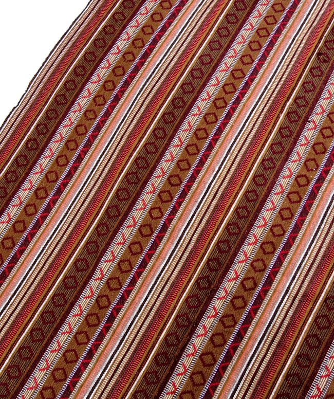 【最大の繋がった長さ1m】〔50cm切り売り〕ネパール織り生地-中厚手〔幅150cm〕の写真