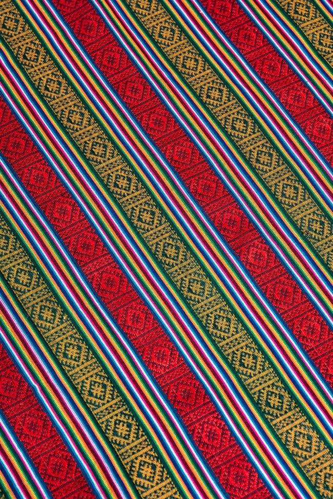 〔50cm切り売り〕ネパール織り生地-薄手 - 〔幅150cm〕の写真