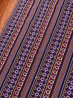 〔50cm切り売り〕ネパール伝統のコットン織り生地 厚手〔幅149cm〕149