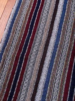 〔50cm切り売り〕ネパール伝統のコットン織り生地 厚手〔幅111cm〕111