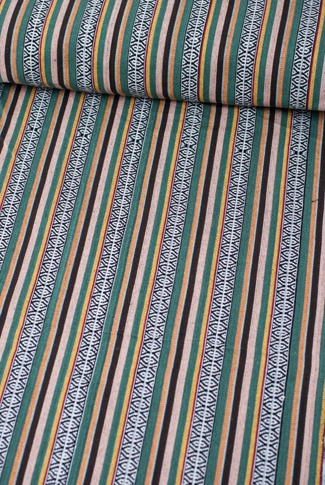 〔50cm切り売り〕ネパール織り生地-厚手〔幅120cm〕の写真