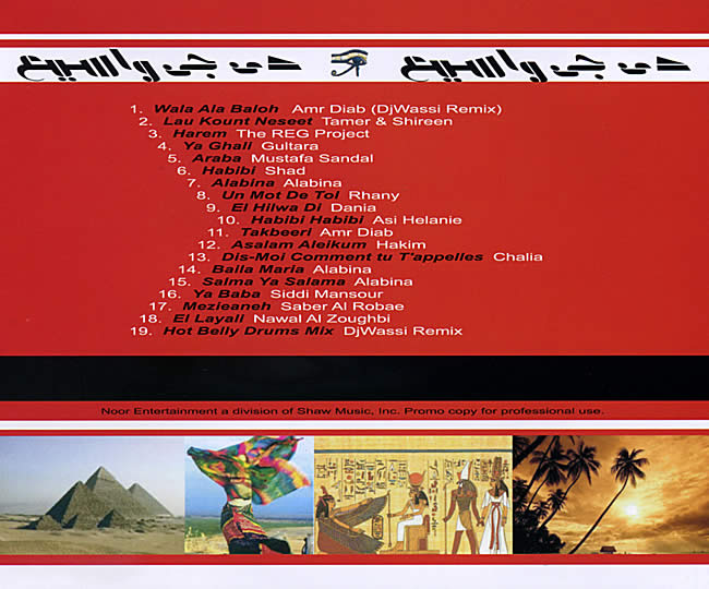Egyptian Nights Vol 1 - DJ Wassi 2 -