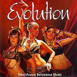 Evolution - Tribal-Fusion Bellydance Music[CD]の写真